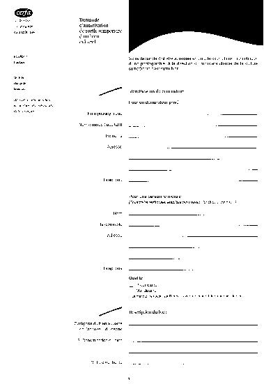 Aperçu Formulaire Cerfa No 02-0083 : Demande d'autorisation de sortie temporaire d'un bien culturel