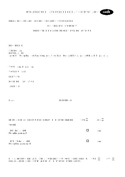 Aperçu Formulaire Cerfa No 12394-01 : Dossier d'inscription au diplôme d'État de professeur de musique