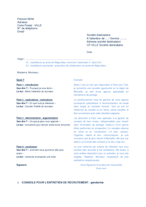 exemple de cv gendarmerie cv type gendarmerie   CV Anonyme exemple de cv gendarmerie
