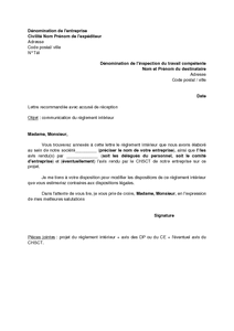 lettre accompagnement facture