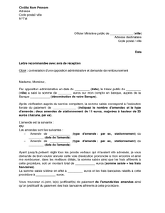lettre d 39 envoi du justificatif de paiement d 39 une amende suite une opposition administrative du. Black Bedroom Furniture Sets. Home Design Ideas