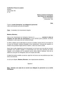 Exemple lettre de démission cdi remise en main propre