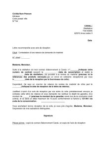 lettre de relance demande de logement