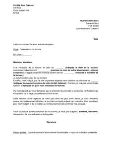 modele lettre contestation facture Lettre Contestation Pv. exemple lettre contestation pv. exemple  modele lettre contestation facture