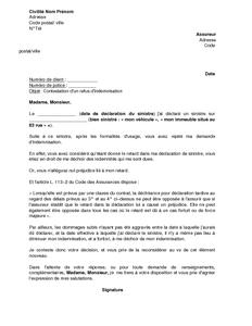 Lettre De Contestation De Refus D Indemnisation Pour Retard