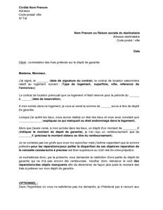 Exemple bail commercial meuble document online for Bail meuble etudiant