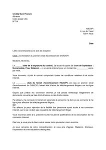 modele lettre avertissement de travail Modele Lettre Avertissement | sprookjesgrot modele lettre avertissement de travail