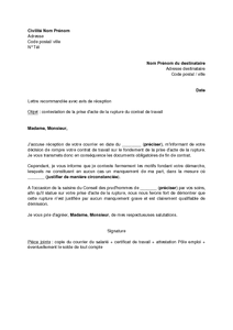 rupture contrat apprentissage