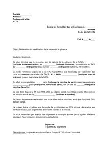 Modele resiliation contrat de location gerance document - Resiliation contrat location meuble ...