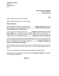 lettre motivation appartement exemple