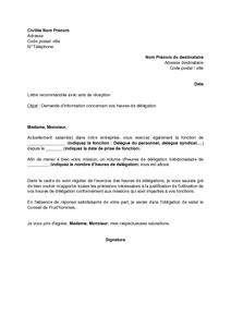 Exemple de courrier de demande modele resiliation | Artere adour tigf