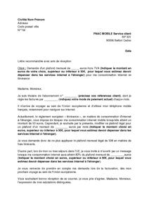 lettre demande changement de poste