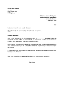 968e223f93f Exemple gratuit de Lettre demande communication critères ordre un ...