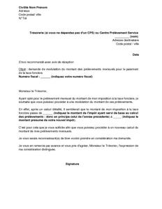 FONCIERE TAXE TÉLÉCHARGER MENSUALISATION FORMULAIRE