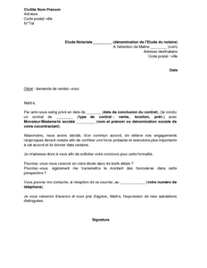 Exemple Lettre Procuration Sous Seing Prive