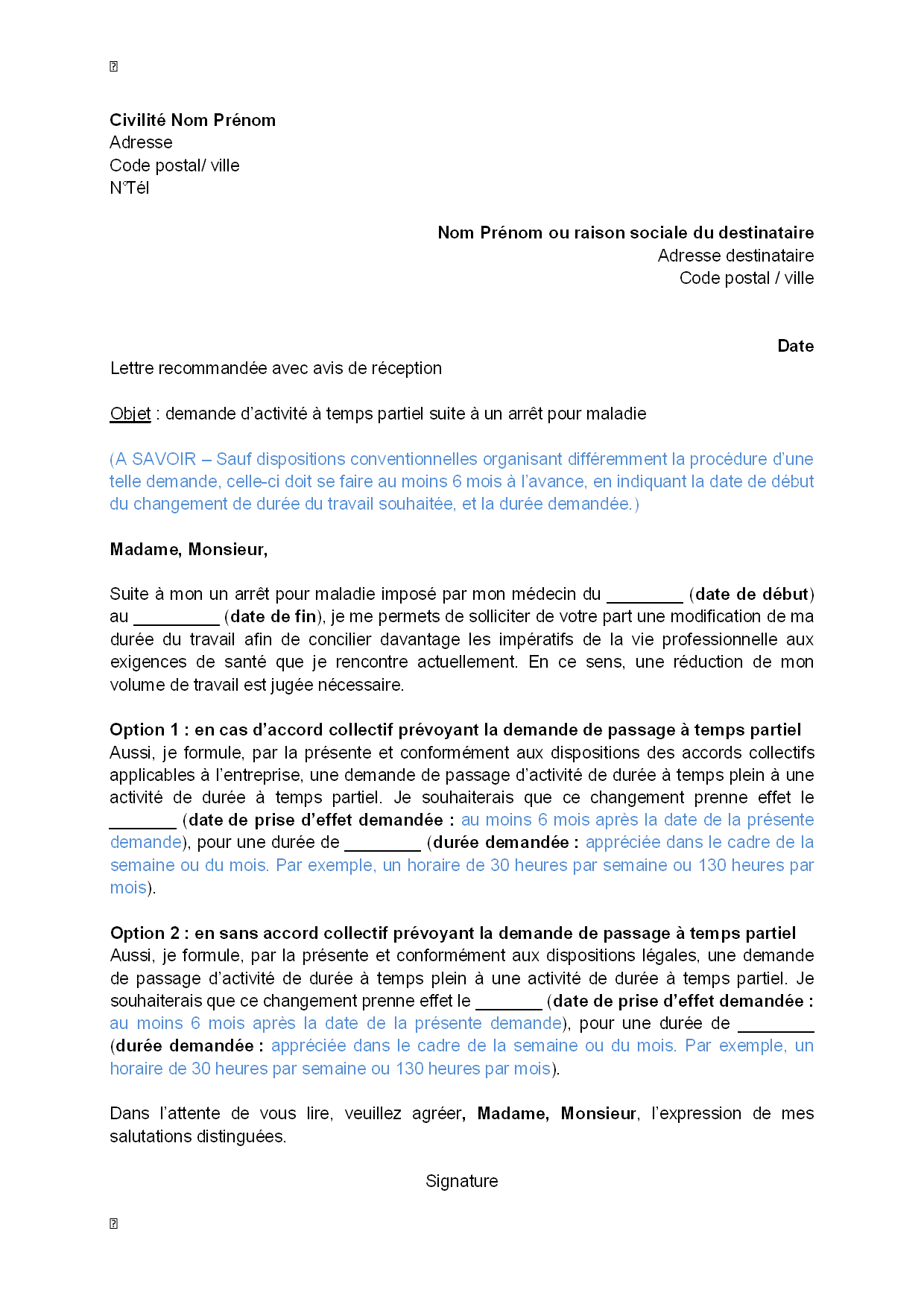 modele lettre de motivation education nationale