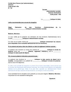 Lettre d administration