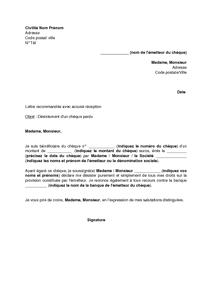 lettre de desistement appartement