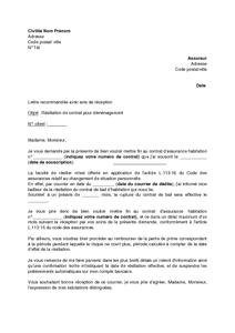lettre de resiliation site de rencontre