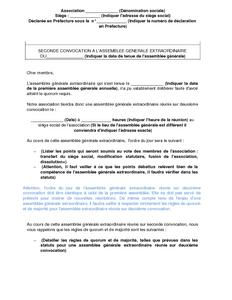 lettre dissolution association