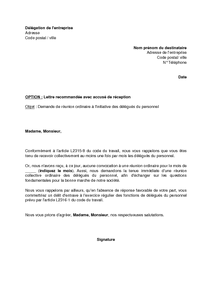 exemple de lettre de collaboration commerciale