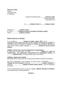 mandat de representation commerciale