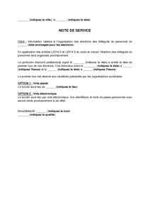 Exemple De Lettre Gratuit De Modele Note Information Salaries