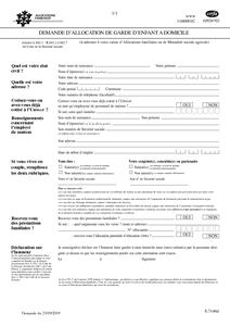 demande d allocation de garde d enfant à domicile cerfa n 10926 02