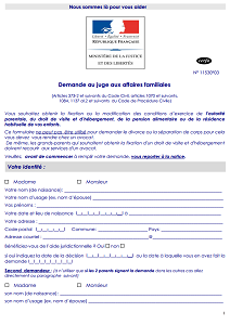 Cerfa N 11530 03 Demande De Revision Modification Ou Suspension