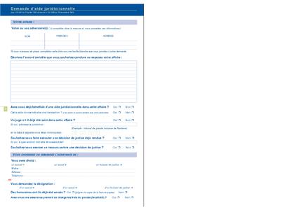 demande d aide juridictionnelle cerfa n 12467 01