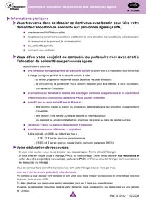 ASPA GRATUITEMENT FORMULAIRE TÉLÉCHARGER